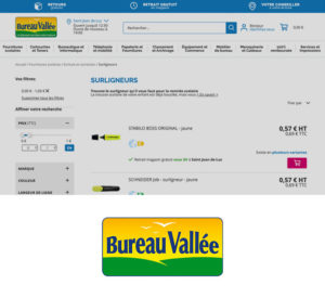 bureau valle ecommerce