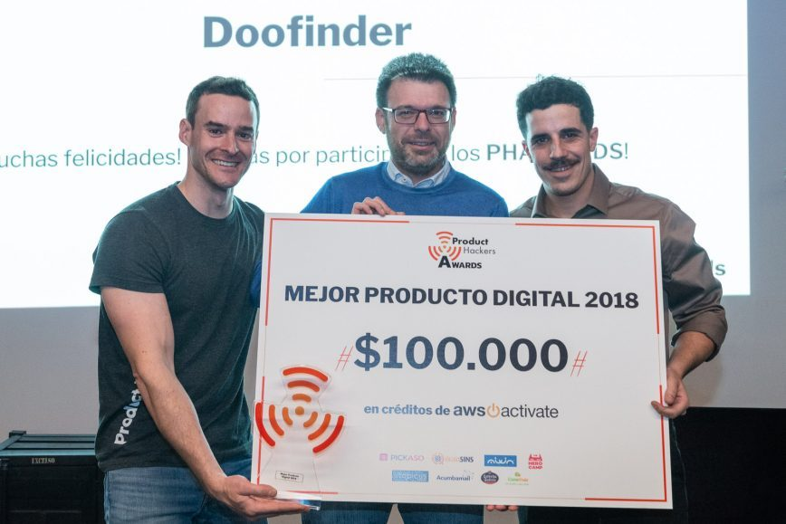 Doofinder wins the Best Digital Product Award